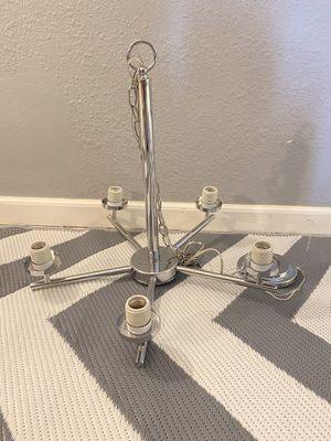 Ceiling Silver Light Chandelier for Sale in Las Vegas, NV