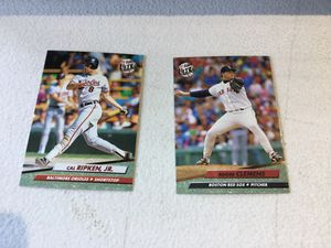 1992 Fleer Ultra complete baseball set. Series 1 and 2 for Sale in Federal Way, WA