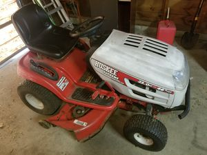 "Huskee supreme 46"" deck riding mower - $450 for Sale in Tuscola, MI"