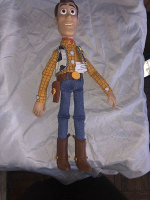 Antique 1995 Woody Toy Story Doll for Sale in Newark, NJ