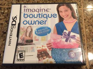 Imagine Boutique Owner Nintendo DS for Sale in Redmond, WA