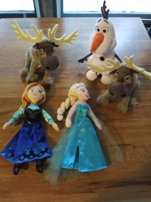 Frozen dolls! for Sale in Wayzata, MN