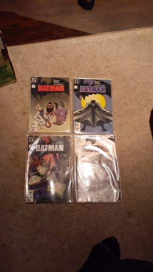 BATMAN YEAR ONE PART1-4 COMPLETE for Sale in Frisco, TX