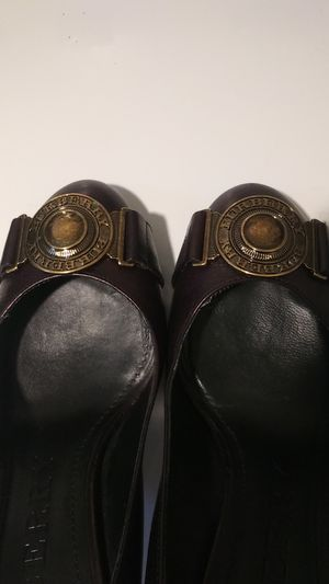 BURBERRY HEELS BRAND NEW WORN 1x CHRISTMAS DEALS!!! for Sale in Suisun City, CA