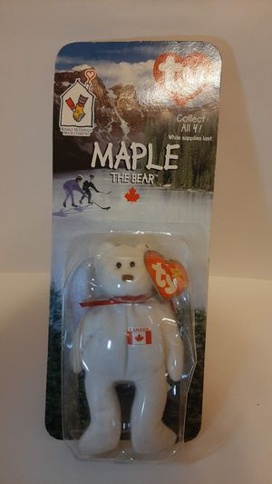 Maple the bear mcdonalds beanie baby for Sale in Garland, TX