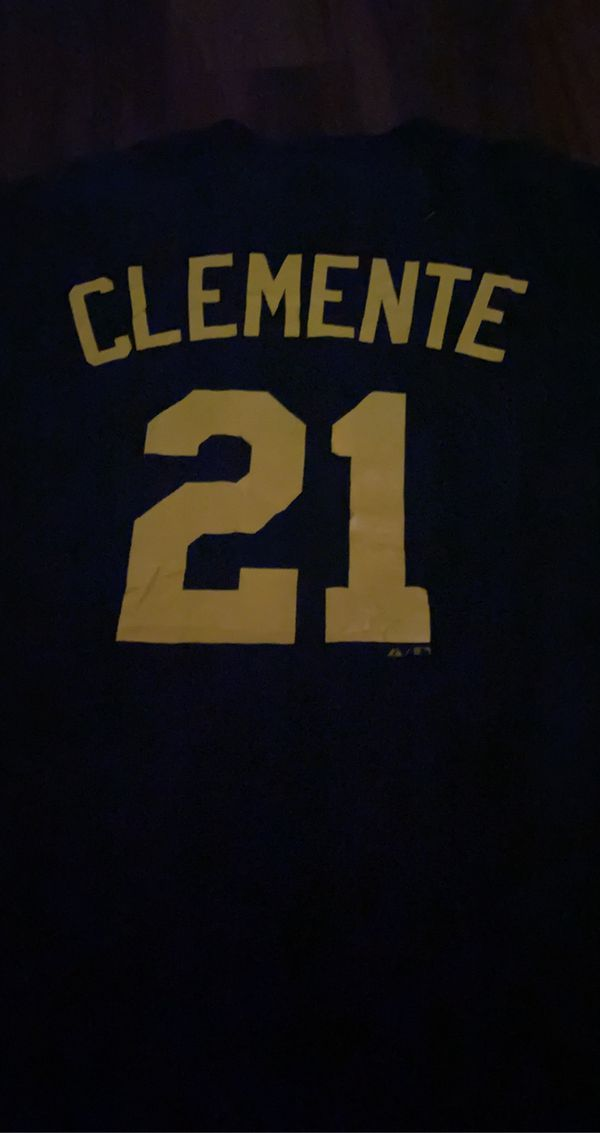 Pittsburgh pirates Roberto Clemente T-shirt size 2XL men's tee mlb baseball