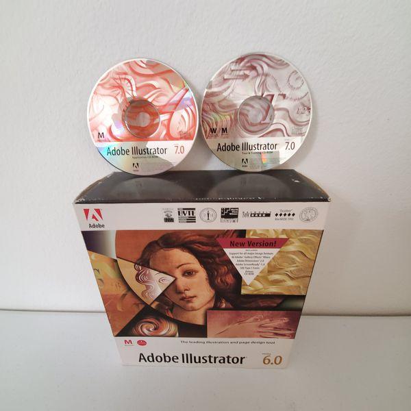 Adobe Illustrator 6.0 and 7.0