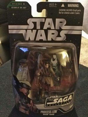 Star Wars Saga Collection Princess Leia Boushh Disguise. for Sale in Dallas, TX