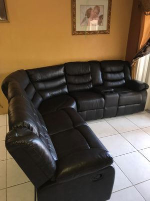 Sectional Recliner 📦 for Sale in Miami, FL