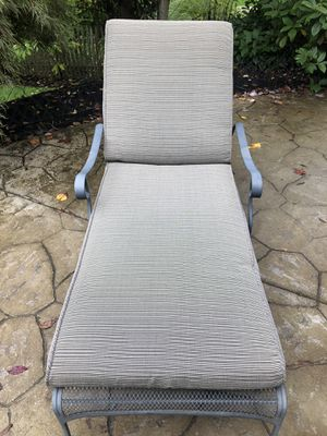 Outdoor chaise lounge for Sale in Portland, OR
