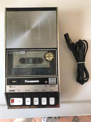 Cassette player from the 80's bought this new 32 years ago intact like new I think I used it around 5 times all adoptions for recording for Sale in Los Angeles, CA