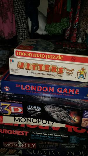 Lot vintage games good fun and to resell online! for Sale in Rochester, NY