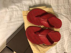 Louis Vuitton red sandals for Sale in Phoenix, AZ