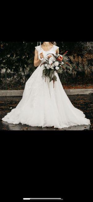 Size 0 Wedding Dress for Sale in Olympia, WA