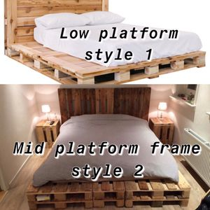 Custom handmade wood pallet/crate bed frames ! for Sale in South Bend, IN