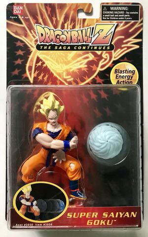Dragonball Z The Saga Continues Super Saiyan Goku Action Figure for Sale in Los Angeles, CA