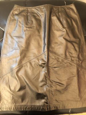 Bronze leather skirt for Sale in Kinston, NC