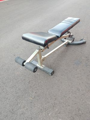 Nautilus stand alone weight bench for Sale in Phoenix, AZ
