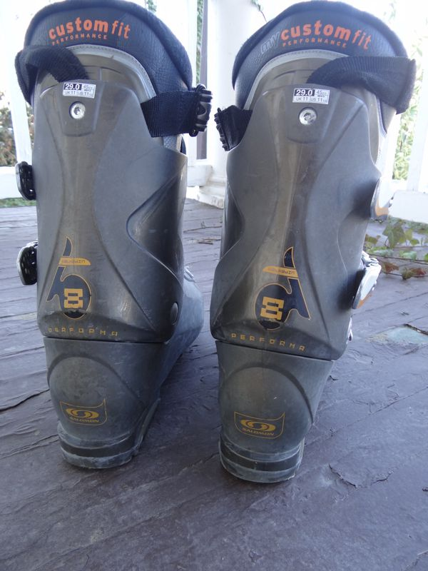 Men's ski boots Salomon mondo 29 (men's 11)