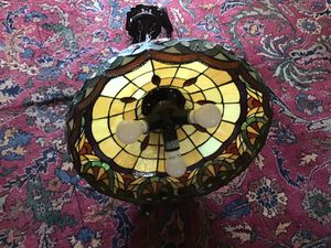 Stained Glass Style Lamp Chandelier Beautiful for Sale in Parkland, FL