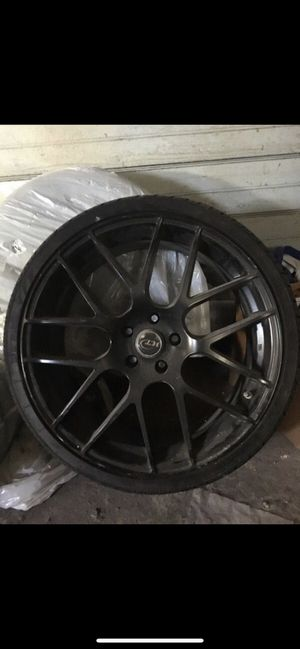 """20"""" VCT rims and tires for Sale in Stoughton, MA"""