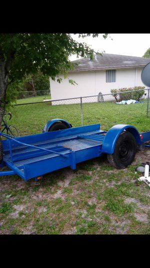 Motorcycle trailer and car trailer for Sale in Pompano Beach, FL