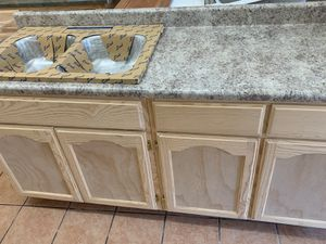 6ft kitchen cabinet countertop & sink for Sale in Los Angeles, CA