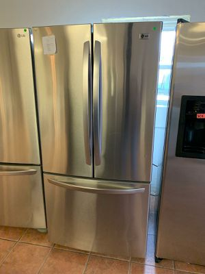 LG French Door Freezer Refrigerator 1 Year Warranty for Sale in San Antonio, TX