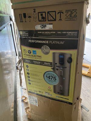 Rheem hybrid water heater for Sale in Douglasville, GA