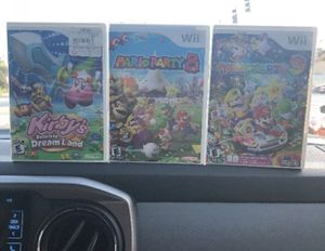 Mario party and kirby for Sale in Miami, FL