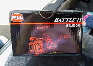 Penn Battle II 3000 Fishing Reel (Battle 2) for Sale in Portland, OR