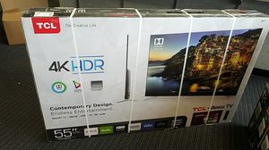 TCL 55C803 Smart TV 4k HDR Dolby Vision Roku TV for Sale in Temecula, CA