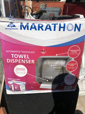 Marathon towel dispenser touchless for Sale in Oakland, CA