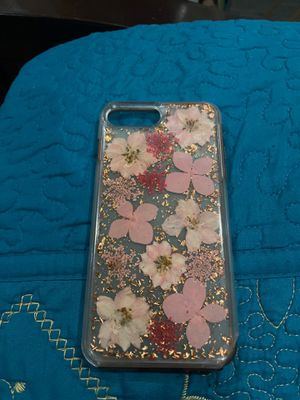 iPhone 8 Plus flower case for Sale in Los Angeles, CA