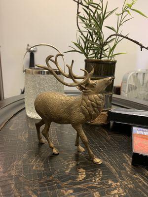 Bronze vintage reindeers for Sale in Garden Grove, CA