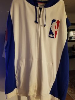 NBA Reebok Exclusive Edition White Sleeveless Hoodie Retro Authentic for Sale in Cantonment,  FL