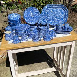 Handmade Blue & White Ceramic Dishesp for Sale in Fayetteville,  GA