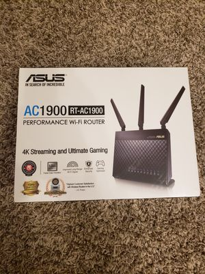Asus AC1900 wi-fi router for Sale in Hilliard, OH