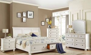 4-Pcs Queen size bedroom set. SPECIAL OFFER. $53 DOWN PAYMENT for Sale in Orlando, FL
