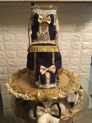 Elegance At Glance Prince Diaper Cake for Sale in Union City, GA
