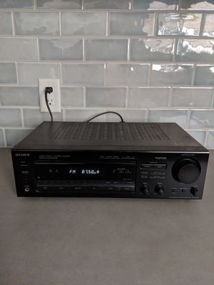 Sony AM/FM Surround Sound Stereo Receiver ST-D565 for Sale in Long Beach, CA