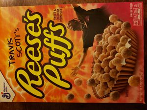 Travis Scott Reese's Puffs Limited Edition for Sale in Mount MADONNA, CA