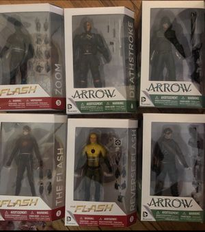 The Flash and Arrow tv show action figure collection for Sale in Montville, CT