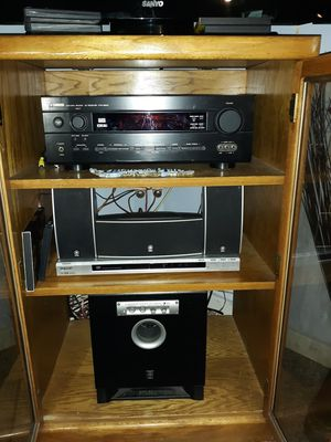Yamaha stereo surround system with original remote Nice for Sale in Cash, AR