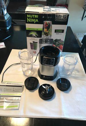 Nutri Ninja Auto-iQ Blender for Sale in Henderson, NV