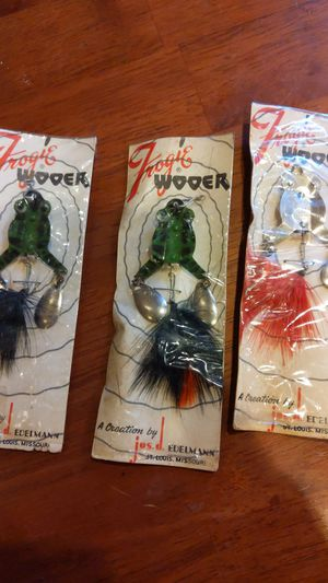 Fishing lures old for Sale in Lemay, MO