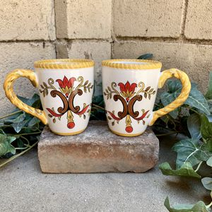 Pier 1 Earthenware Oralia Mugs for Sale in Fresno, CA