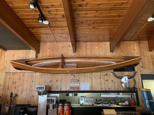 Hand crafted wood canoe for Sale in Skykomish, WA