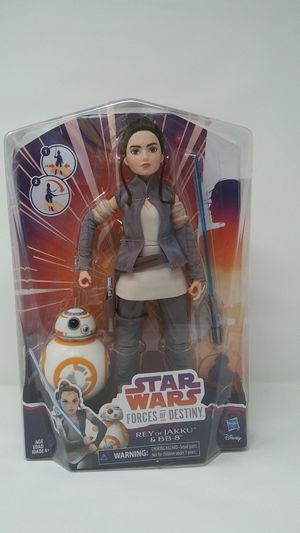 Star Wars Forces of Destiny Rey of Jakku and BB-8 Adventure Set for Sale in La Mirada, CA
