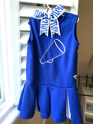 Girls cheerleader costume for Sale in Tampa, FL